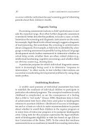 sample of descriptive essay about a place 2 purposeful assessment early childhood assessment why what page 30