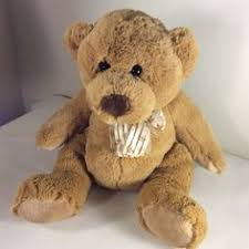 stuffed teddy bears walmart com vintage dakin fun farm honey jo brown teddy bear plush stuffed
