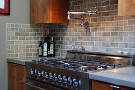 brick tile backsplash kitchen brick backsplash in kitchen the benefits to use brick kitchen