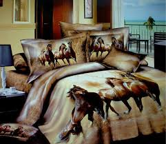 Horse Comforter Twin 3d Horse Design Patterns Print Bedding Comforter Sets Queen Size