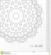 silver wedding invitation template stock vector image 71053753