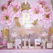 princess baby shower party ideas gold baby showers baby shower