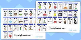 printable alphabet mat a z alphabet mat upper lowercase alphabet mat dfes letters