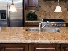 brown backsplash cheap granite countertops kitchen designs
