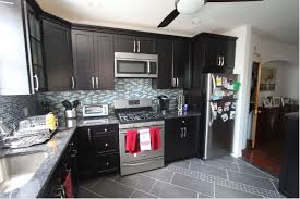 black shaker style kitchen cabinets shaker style philly s growing kitchen cabinet trend