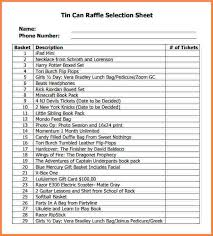 Raffle Sheet Template Raffle Sheet Template Word Raffle Ticket Template 1 How To Get A