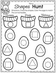spring preschool worksheets color shapes preschool worksheets