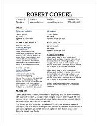 basic resumes resume examples basic resume examples basic resume