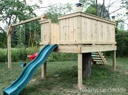 Backyard Swing Set Ideas Entranching 35 Swing Set Plans Ideas Diy Wood And Swings Build