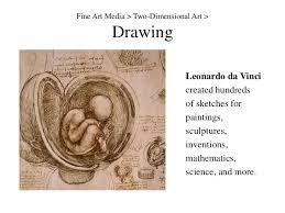 two dimensional fine art media