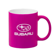 subaru pink amazon com genuine subaru neon pink ceramic coffee mug cup