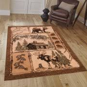 Moose Area Rugs Moose Rugs