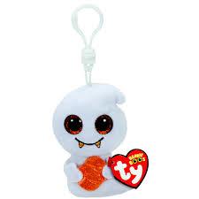 ty beanie boos scream ghost key ring clip claire u0027s