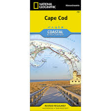 250 cape cod national seashore trail map national geographic store