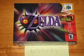 ds legend of zelda pouch amazon deal black friday legend of zelda majora u0027s mask nintendo 64 2000 ebay