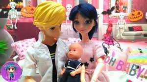 Baby Shower Barbie by Surprise Party Baby Shower With Marinette And Adrien Miraculous
