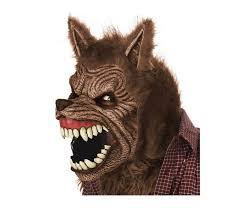 Spirit Halloween Pet Costumes Animated Werewolf Mask Costume Big Bad Wolf Halloween Dog Cosplay