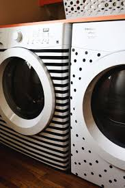 Cute Laundry Room Decor Ideas by 15 Black And White Home Decor Projects Electrical Tape Washer