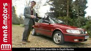 saab convertible red 1998 saab 93 convertible in depth review youtube