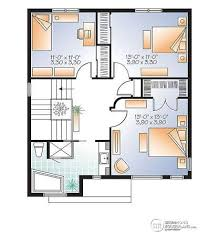 2nd floor house plan house plan w3712 detail from drummondhouseplans com