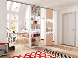 interior design door can a shelving unit be used as a sliding door nordic design news