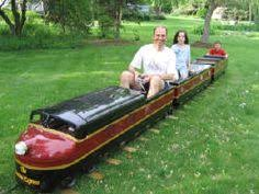 Backyard Trains You Can Ride For Sale One Of These For The Backyard Love The Idea Of Having A Train