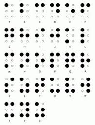 How Do Blind People Read Braille 17 Best Braille Art Images On Pinterest Books Communication And