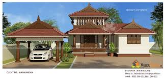 square feet 2 bhk single floor traditional home design