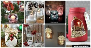 how to make mason jar lights with christmas lights diy christmas mason jar lighting crafts instructions different