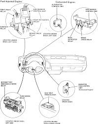 1999 honda accord alternator where is the fuel relay located at on the 1999 honda accord