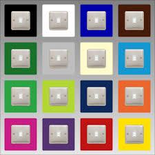 modern light switch covers lighting design ideas light switch plates surround finger plate
