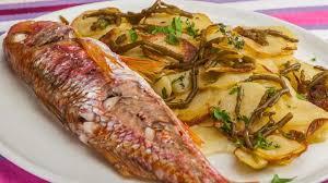 cuisiner la salicorne rouget aux pommes de terre nouvelles et salicornes recette par