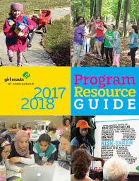 program resource guide 2017 2018 by scouts of connecticut issuu
