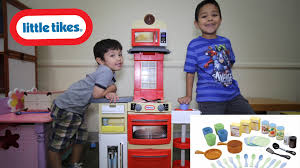 Play Kitchen Red Cook U0027n Store Kitchen Red From Little Tikes Stove Kitchen Review