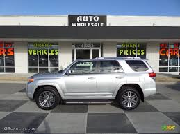 2013 4runner Limited Interior 2013 Classic Silver Metallic Toyota 4runner Limited 4x4 90068359