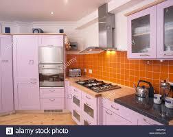 Modern Kitchen Tiles Wonderful Kitchen Tiles Orange Mediterraneankitchen C With Design