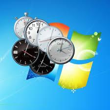 horloge sur le bureau windows 7 horloges windows 7 gadgets à télécharger gratuitement