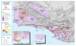 Los Angeles Ethnicity Map by Adla Ore Regional Office Santa Barbara