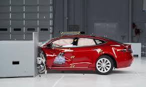tesla and bmw fall short of highest crash test rating daily mail