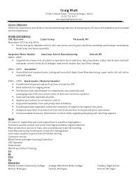 exle of a customer service resume craig last update 2 11 14 revised resume