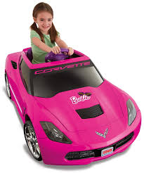 pink toy jeep amazon com power wheels barbie corvette stingray toys u0026 games