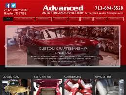 Upholstery York Advanced Auto Trim And Upholstery Auto Restoration Houston