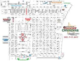 sands expo floor plan show map stetson country christmas