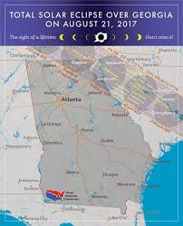 Northeast Georgia Map Georgia Eclipse U2014 Total Solar Eclipse Of Aug 21 2017