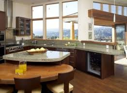 Best Kitchen Islands With Attached Tables Images On Pinterest - Kitchen island with attached table