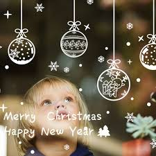 Christmas Village Window Decorations by Best 25 Christmas Window Stickers Ideas On Pinterest Window