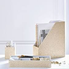 Chevron Desk Accessories Teen Desk Accessories U0026 Desk Decorations Pbteen