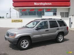 2000 silverstone metallic jeep grand cherokee laredo 4x4 13881613