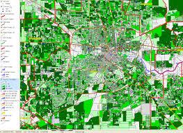 Houston City Limits Map Historical Development Of Houston Tx