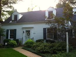white painted brick house with grey roof google search painted
